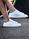 Кроссовки Adidas Stan Smith женские, в стиле Адидас Стен Смит. Натуральная кожа. код Z-1557. Белые, фото 6