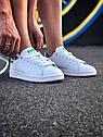 Кроссовки Adidas Stan Smith женские, в стиле Адидас Стен Смит. Натуральная кожа. код Z-1557. Белые, фото 9