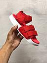 Босоножки Adidas женские, в стиле Адидас. Код товара Z-1876. Красные, фото 2