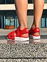 Босоножки Adidas женские, в стиле Адидас. Код товара Z-1876. Красные, фото 5