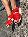 Босоножки Adidas женские, в стиле Адидас. Код товара Z-1876. Красные, фото 8