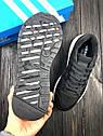 Кроссовки мужские Adidas Equipment в стиле Адидас Эквипмент, замша, текстиль код Z-1707. Черные с белым, фото 7