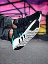 Кроссовки Adidas Equipment мужские, Адидас Эквипмент, материал текстиль, код Z-1783, Черные, фото 3