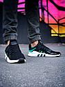 Кроссовки Adidas Equipment мужские, Адидас Эквипмент, материал текстиль, код Z-1783, Черные, фото 8