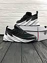 Кроссовки мужские Adidas Shark в стиле Адидас Шарк, замша, текстиль код Z-1716. Серые, фото 2
