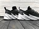 Кроссовки мужские Adidas Shark в стиле Адидас Шарк, замша, текстиль код Z-1716. Серые, фото 4