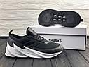 Кроссовки мужские Adidas Shark в стиле Адидас Шарк, замша, текстиль код Z-1716. Серые, фото 8