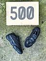 Кроссовки мужские Adidas Yeezy 500 Utility Black, натуральная замша, кожа, в стиле Адидса  код Z-1654., фото 6