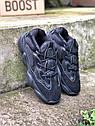 Кроссовки мужские Adidas Yeezy 500 Utility Black, натуральная замша, кожа, в стиле Адидса  код Z-1654., фото 9