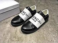 Кроссовки женские в стиле Givenchy код товара Z-1309. Черные с белым