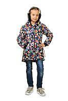 Детская демисезонная куртка для девочки в молодежном стиле