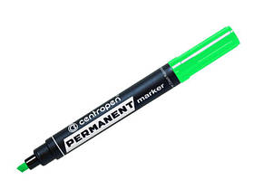 Маркер перманентний зелений. (клиноподібний) 8576 Centropen