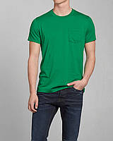 Зеленая футболка Abercrombie&Fitch