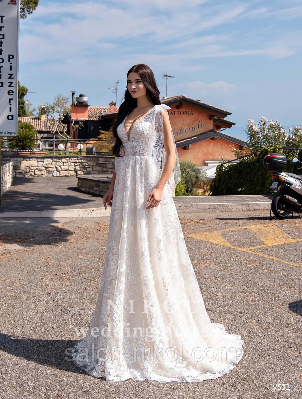 Свадебное платье № V533