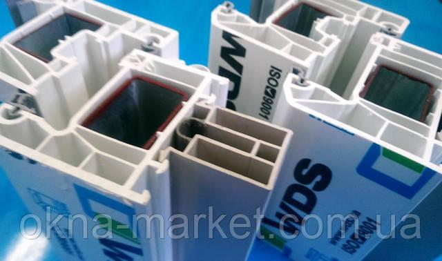 Металлопластиковые окна WDS 400 и WDS 500