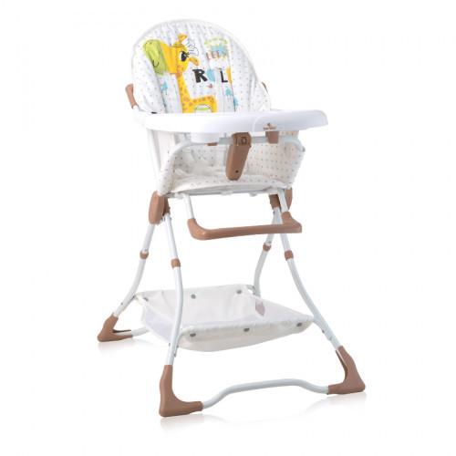 Стульчик для кормления Bertoni Bonbon (beige/white girafe)