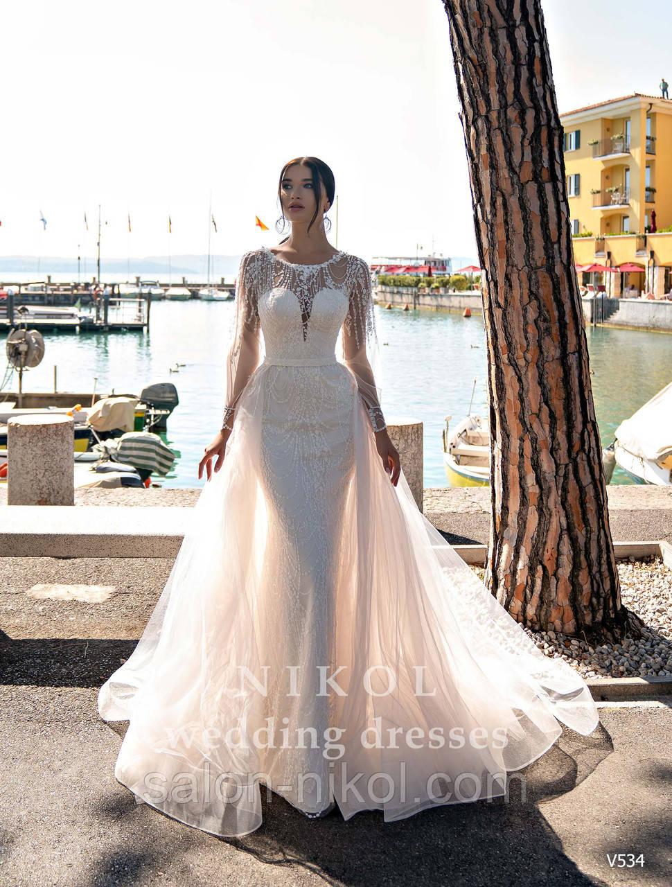 Свадебное платье № V534