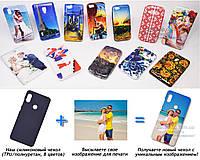 Печать на чехле для Xiaomi Mi Mix 3 / Mi Mix 3 5G (Cиликон/TPU)