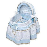 Кроватка 51127 (6шт) для куклы, 46-27-в52см, подушка, матрасик, в кор-ке, 47-30-11см
