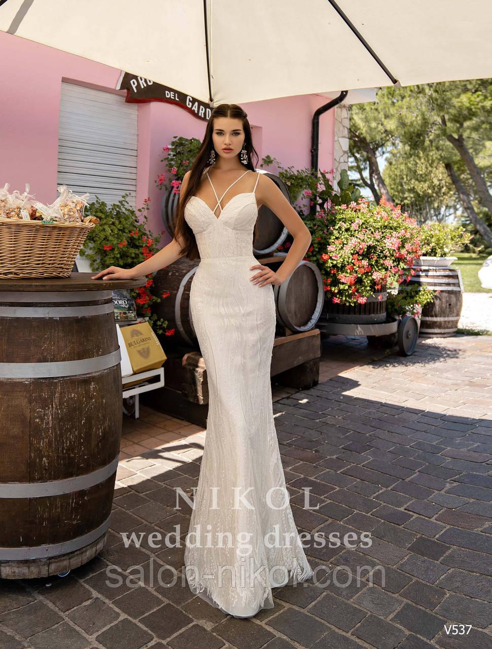 Свадебное платье № V537