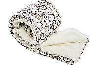 Одеяло с открытой овечьей шерстью Уют полуторное 150*210