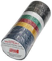 Изолента ПВХ цветная Master+(17m*17mm*0.13mm)