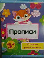 Харьков Прописи Готовим руку к письму