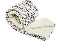 Одеяло с открытой овечьей шерстью Уют двуспальное 180*210, фото 1