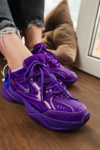 Женские кроссовки Nike m2k tekno Сирень