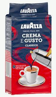Кофе LAVAZZA Crema e Gusto Classico  молотое 250г, фото 2