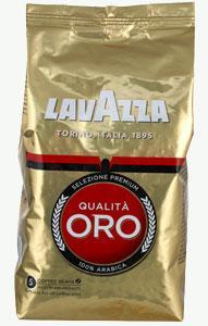 Кофе зерно LAVAZZA Qualita ORO 1кг Италия