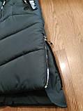 Модное подростковое зимнее пальто для девочек, фото 5