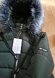Модное подростковое зимнее пальто для девочек, фото 6