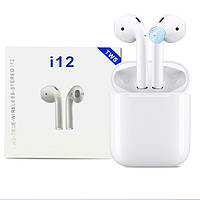 Bluetooth наушники Mavens I12 TWS Stereo Белые
