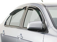 Ветровики Toyota Camry V50 SED 2011-  дефлекторы окон AutoClover A168