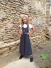 Зимові Дитячі штани-комбінезон для дівчинки Love Me Україна 5100 Сірий