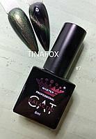 Гель-лак для ногтей магнитный кошачий глаз Master Professional №7