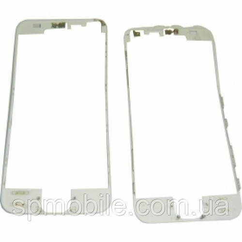 Рамка для дисплея iPhone 5G з термоклеєм (White)