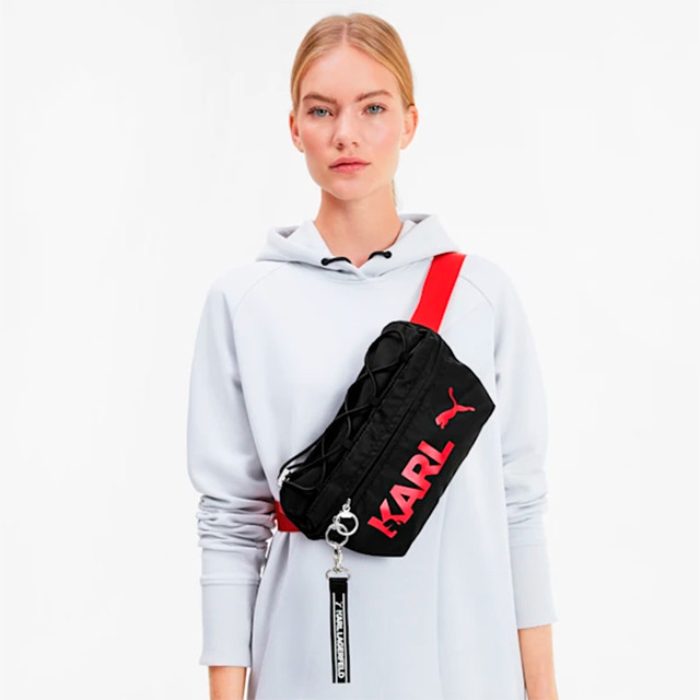Сумка на пояс PUMA x KARL LAGERFELD Waist Bag