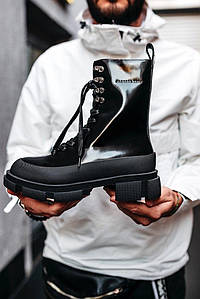 *Женские ботинки Both Black