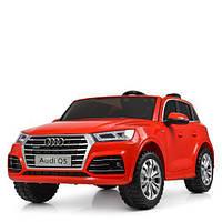 Детский двухместный электромобиль Audi M 5394 EBLR-3, красный