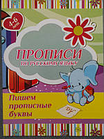Харьков Прописи Русский язык Прописные буквы, фото 1