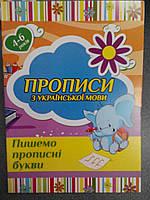 Харьков Прописи Українська мова Прописні літери, фото 1