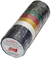 Изолента ПВХ цветная Master+(11m*17mm*0.13mm)