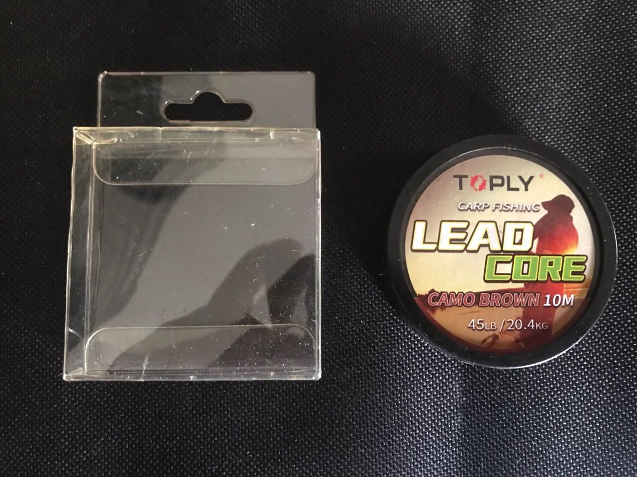 Лидкор для лову коропа Toply 10м ( 45 lb )