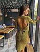 Шикарное вечернее  платье  с октрытой спиной, фото 5