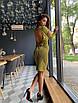 Шикарное вечернее  платье  с октрытой спиной, фото 4