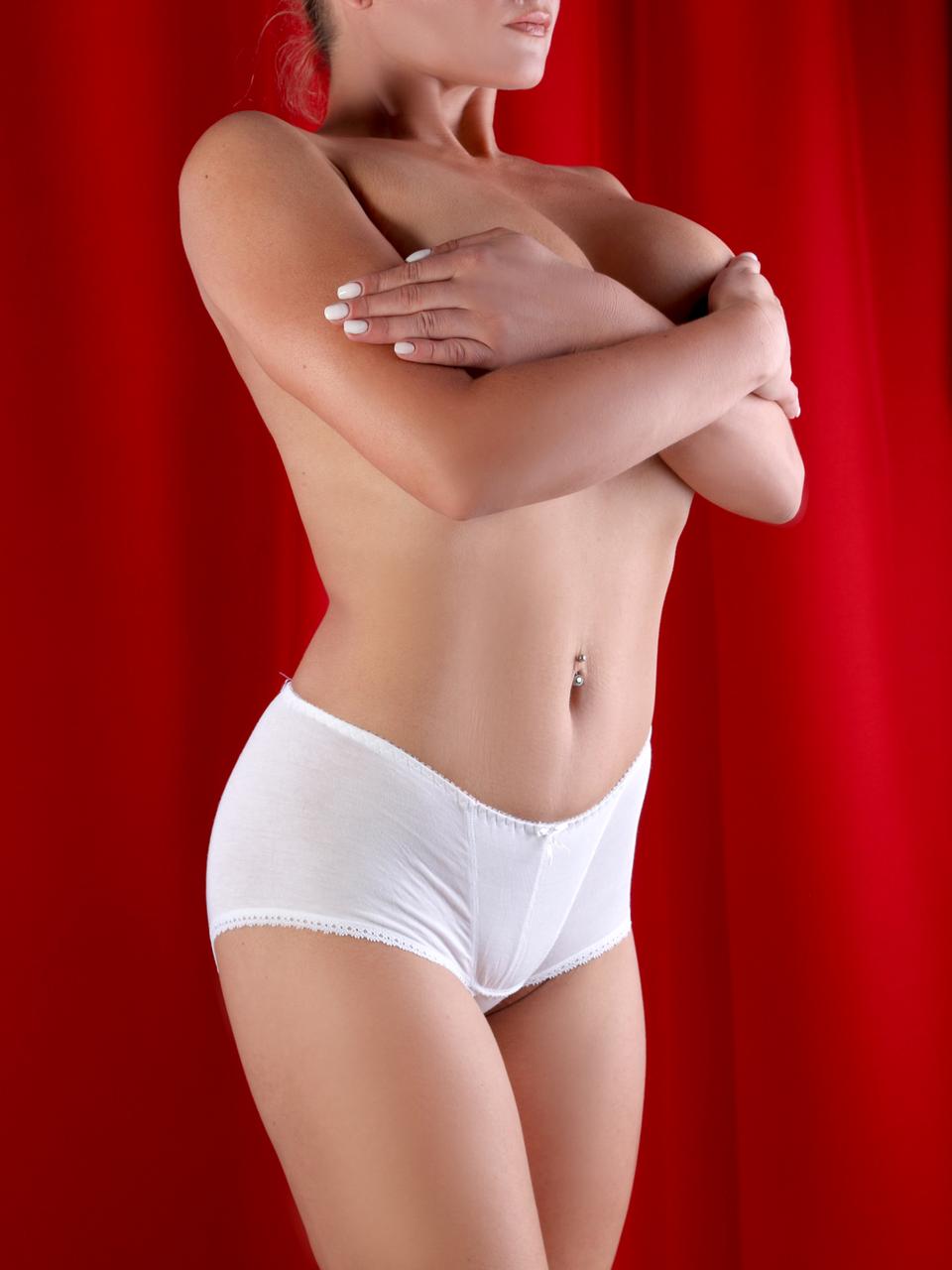 Трусики женские Diorella 60277, цвет Белый, размер L