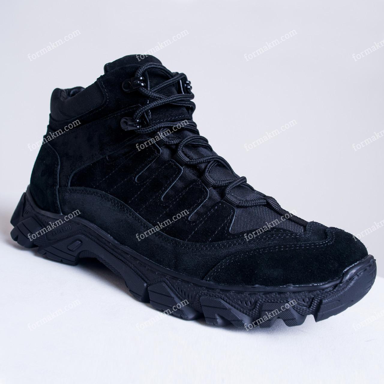 Тактические Ботинки Зимние Alpha Black