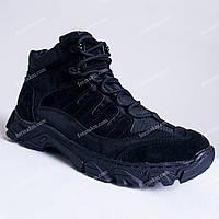 Тактические Ботинки Зимние Alpha Black, фото 1